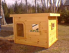Police Dog House Plans